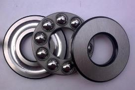 Installation improvement of thrust ball bearings
